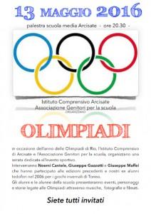 Volantino Serata Olimpiade 2016 danzi copia